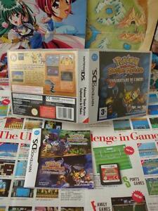 Nintendo-DS-Pokemon-Donjon-Mystere-Explorateurs-de-l-039-Ombre-TOP-COMPLET-Fr