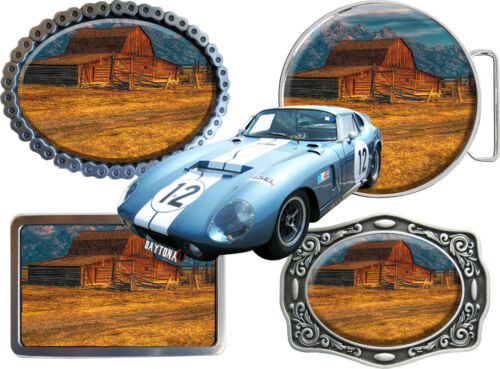 Belt Buckle Historical Vehicles Historic /& Classic Car Brand A