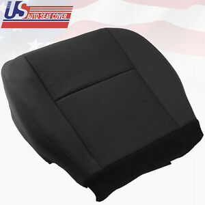 2007 2008 2009 2010 Chevy Avalanche Passenger Side Bottom Cloth Seat Cover Black