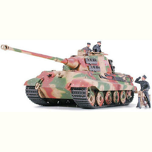 TAMIYA 35252 King Tiger Tank Ardennes Front 1 35 Military Model Kit