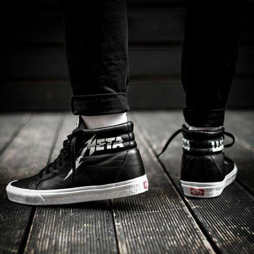 Vans X Metallica SK8 Hi Reisssue Black True White