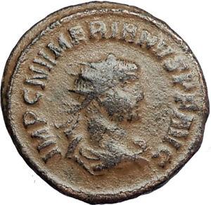 NUMERIAN-Authentic-Ancient-284AD-Genuine-Roman-Coin-of-Cyzicus-w-JUPITER-i67739