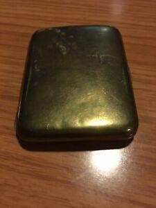 1920-s-40-s-Brass-Curved-Cigarette-Case