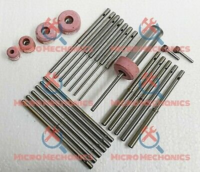 """5 Pink Stones 2 Star Drive B /& D Stone Holder 9//16/"""" Thread With 19 Pilots"""