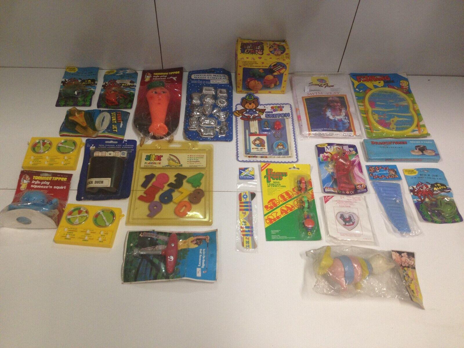 Bulk Lot of 21 Vintage 1970's 80's Novelty Toys