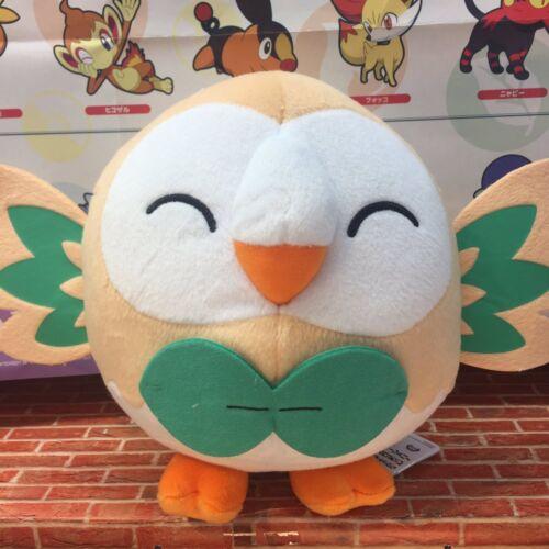 NEW Banpresto Pokemon Sun and Moon Rowlet Plush Doll 23cm BANP37952 US Seller
