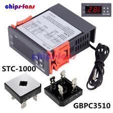 Stc 1000 Temperature Controller Temp Sensor Thermostat Control Digital 110v 220v