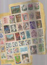 francobolli repubblica usati stock di 28 valori - A