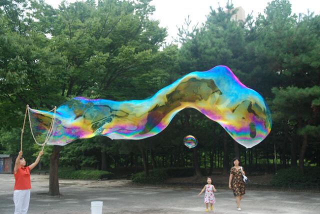 Huge Giant Soap Bubbles Bubble Concentrate Solution 100g X 1