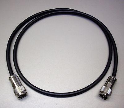 Koaxkabel PL-Stecker-/>N-Stecker aus SSB Aircell 7-8m