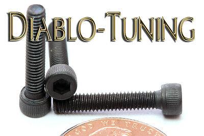 "Qty 20 #4-48 x 5//8/"" BUTTON HEAD Socket Cap Screws  Alloy Steel Black Oxide"