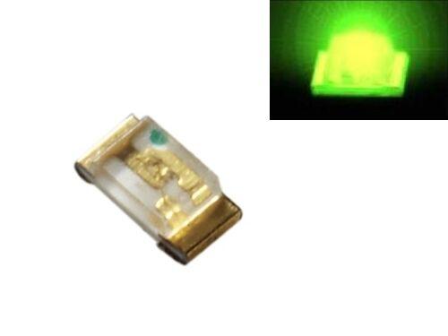S189-50 Stück SMD LED 0603 grün LEDs green