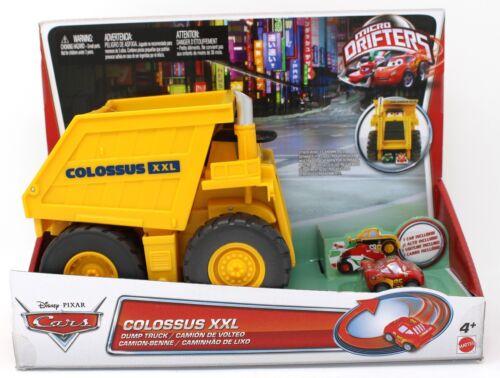 Colossus XXL Disney Pixar Cars Micro Drifters Dump Truck Mattel 2012 NEW NIB