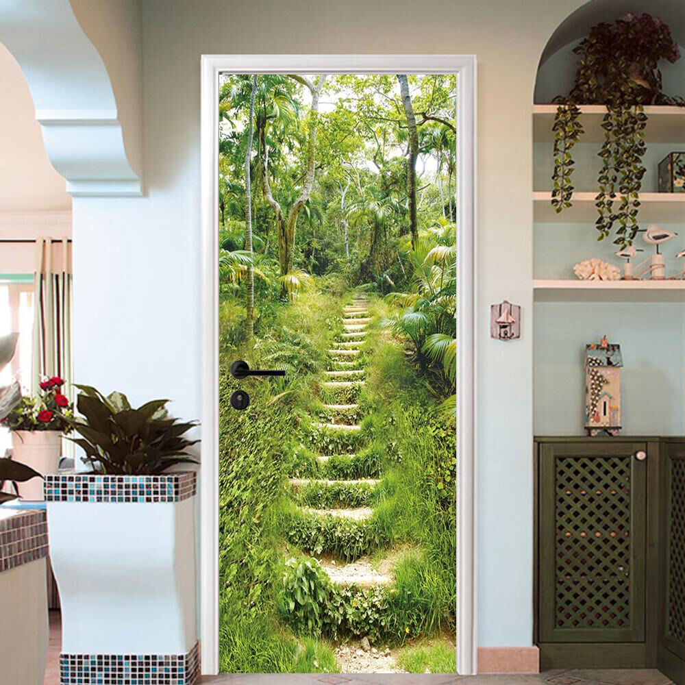 3D Grasniveau Tür Wandlerei Wandaufkleber Aufkleber AJ AJ AJ WALLPAPER DE Kyra  | ein guter Ruf in der Welt  | Einzigartig  | Offizielle  a8b74f