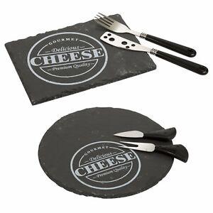 3pc-Pizarra-Queso-Panel-con-Cuchillo-y-Tenedor-Tapas-Servir-Set-de-Regalo
