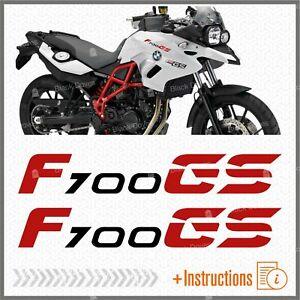 2pcs-Adhesifs-Noir-Rouge-F-700-GS-Compatible-avec-BMW-F700GS-F700