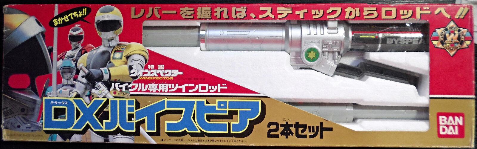1990 Special Rescue Police Tokkei Winspector DX Bikel Bispear chogokin Popy NY