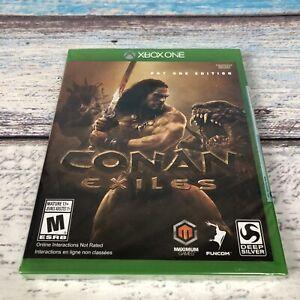 Conan Exiles: Day One Edition (Microsoft Xbox One, 2018) Xbox One X Enhanced New