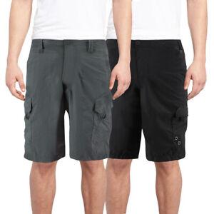 Burnside-Men-039-s-Quick-Dry-Cargo-Swim-Board-Shorts-Beach-Slim-Fit-Surf-Trunks