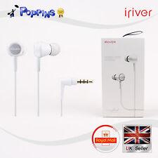 NEW Genuine IRIVER ICP-AT1000 Earphone Headphone White