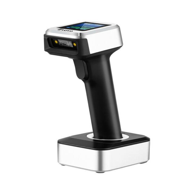 3 in 1 2.4G Wireless Bluetooth USB Wired Barcode Scanner w/ Real Time for iPhone