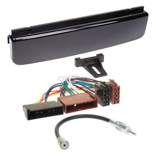 Ford Galaxy 00-06 1-DIN Autoradio Einbauset Adapter Kabel Radioblende hochglanz
