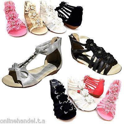 Neu Sandalen Mädchen Sandalette Kinder Sandalen