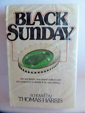 SEALED vtg BLACK SUNDAY 1st book by Thomas Harris author of Silence of the Lambs