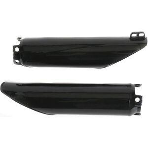 YAMAHA YZ125, YZ250,WR250F WR450F WR400F WR426F BLACK FORK GUARDS 98-04