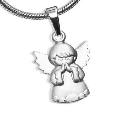 Engel Anhänger Schutzengel Kettenanhänger Taufanhänger Silber 925 Taufe Geburt