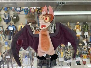 """Batty Bat Koda Plush 1998 Ferngully Fern Gully 8"""" Stuffed Beanie Bean Bag Toy"""