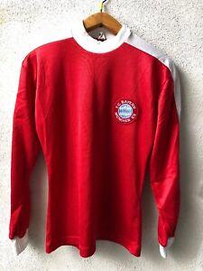 Maglia-Shirt-Maillot-Bayern-Monaco-70-80s-Vintage-Rara-11-Match-Worn-ROMER