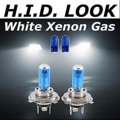 Ford Fiesta Mk6 02 sur st H4 501 LED Super Blanc Phare Xénon Ampoules 4500k