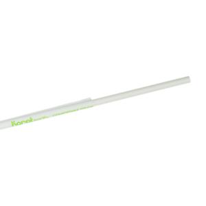 "Sure Earth 10.25/"" Eco Friendly Wrapped White Paper Straw1200 per Case"