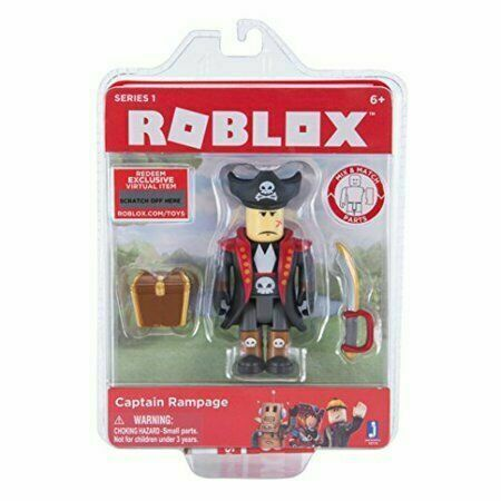ROBLOX Series 1 Action Figure Captain Rampage Treasure Chest Sword Pirate  for sale online | eBay