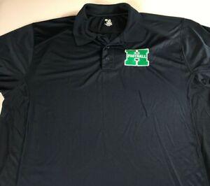 Harrison-Hoyas-Football-Polo-Shirt-Mens-XL-Georgia-High-School-Dri-Fit-Alumni