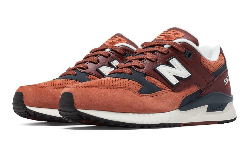 NEW NEW NEW BALANCE 530 90s RUNNING WOODS PACK W530AAE REDWOOD/BEET RED/NAVY BLUE/WHITE ff5f35