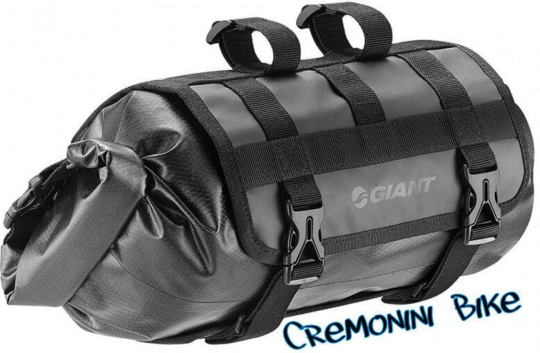 GIANT borsa anteriore borsello manubrio scout impermeabile bici bike viaggio bag