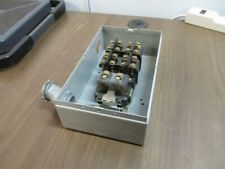 Ge Enclosed Lighting Contactor Cr260l21ja122 120v Coil Type 1 Enclosure Used