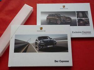 PORSCHE-Cayenne-Typ-92A-Diesel-S-S-Hybrid-GTS-Turbo-Hardcover-Prospekt-von-2013