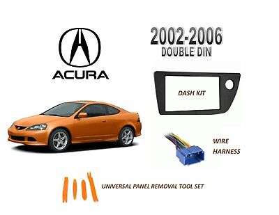 car radio wiring installation parts Stereo Install Dash Kit Acura RSX Non S-Type 02 03 04