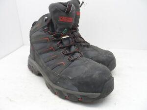 b13d933c912 Details about DAKOTA Men's Steel Toe Steel Plate Waterproof Mid Cut Safety  Hiking Boots 8.5EE
