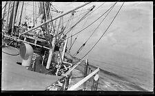 Vintage-Negativ-Panama-Kanal-Canal-Passagier-Dampfer-Schiff-Ship-Bahn-1920s-4