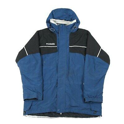 COLUMBIA Insulated Waterproof Jacket   Wind Rain Anorak ...