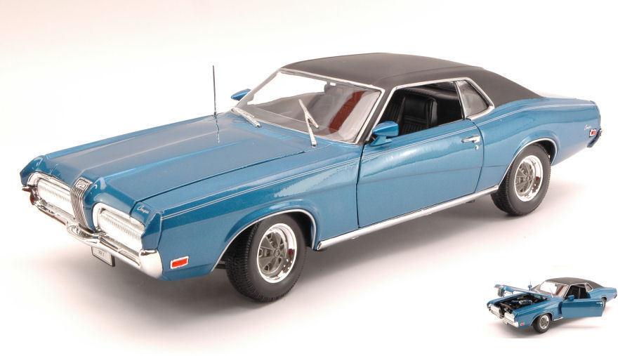 Mercury Cougar Xr 7 1970 Blau 1 18 Model 2521BL WELLY