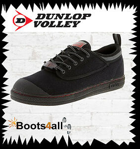 Dunlop Volley Men s Work Safety Boots Shoes Steel Toe AU UK Size ... 11178719a23
