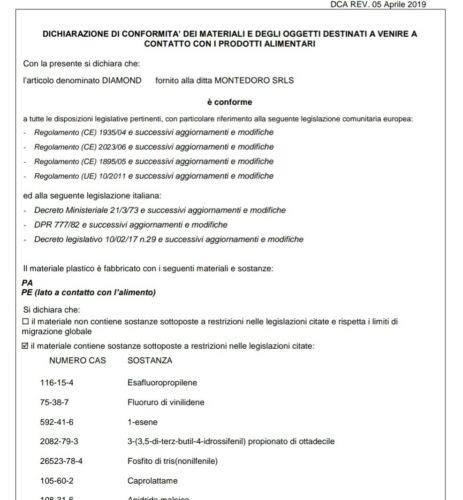 MONTEDORO SRL 100 BUSTE SOTTOVUOTO GOFFRATE ALIMENTI 35X45 SACCHETTI GOFFRATI