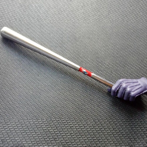 "1//6 Scale Alloy Baseball Bat Model For 12/"" Action Figure Scene Accessories"