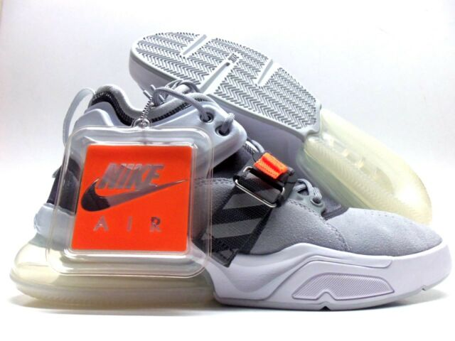 newest 108ec 5d6ed Nike Air Force 270 Men Lifestyle SNEAKERS Wolf Grey White Sail Ah6772-002 9
