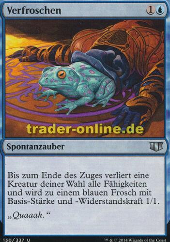 Commander 2014 Magic Turn to Frog 2x Verfroschen